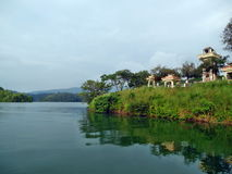 Neyyar Dam landscape Stock Image