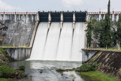 Neyyar Reservoir in Kerala Stock Photo