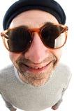 nez de chapeau de fin de béret d'artiste grand vers le haut Photo stock