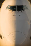 Nez des aéronefs Photo libre de droits