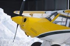 Nez et carlingue des aéronefs privés légers Photo stock