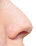 Nez humain Images libres de droits