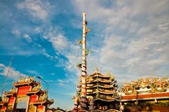 Nezha,Naja Chinese Temple Royalty Free Stock Photo