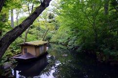 Nezu-Museumsgarten im Sommer, Tokyo, Japan Stockbilder