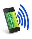 Ψηφιακό πορτοφόλι NFC Στοκ εικόνες με δικαίωμα ελεύθερης χρήσης