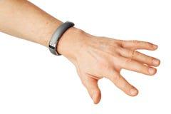 Nfc armband förestående Royaltyfria Bilder