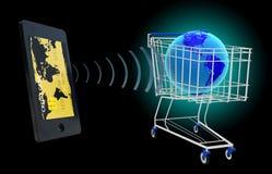 NFC - Blisko śródpolnej komunikaci Zdjęcie Stock