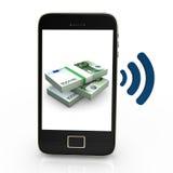NFC Euros Royalty Free Stock Photography
