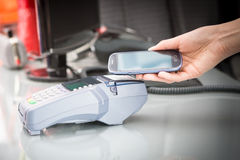 NFC - Near field communication Stock Image