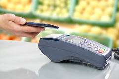 NFC - Near field communication Royalty Free Stock Photos
