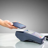 NFC - Near field communication Stock Photography