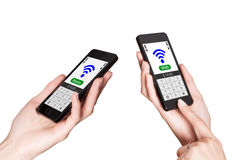 NFC - Near field communication Royalty Free Stock Images