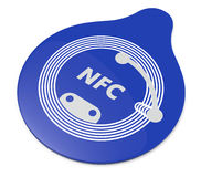 Nfc tag Royalty Free Stock Photo
