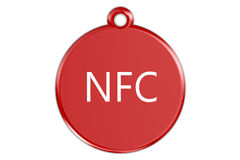 NFC tag Royalty Free Stock Images