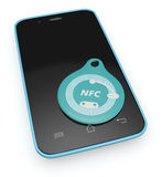 Nfc tag Stock Photography