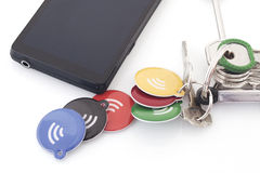 Nfc Tags Royalty Free Stock Photos