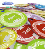 Nfc tags Stock Photos