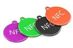 NFC tags Royalty Free Stock Photos