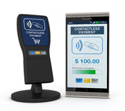 Nfc technology Royalty Free Stock Photos