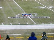 NFL橄榄球淘汰赛 免版税库存照片