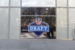 NFL选秀 库存照片
