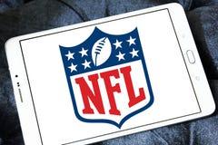 Nfl, логотип Профессиональной лиги американского футбола Стоковое фото RF