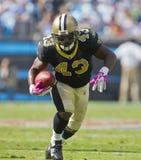 NFL: 09 Oct Heiligen versus Panters Stock Foto's