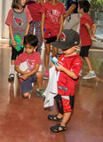 NFL Arizona Cardinals Football Fans Royalty Free Stock Photography