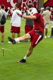 NFL Arizona Cardinals Football Pre-season Training Camp Practice Stock Image