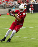 NFL Arizona Cardinals Football Pre-season Training Camp Practice Royalty Free Stock Image