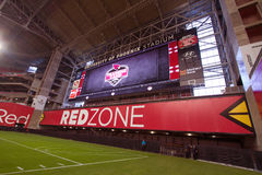 NFL Arizona Cardinals Football Redzone Royalty Free Stock Photography