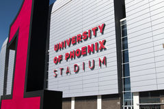 NFL Arizona Cardinals Football Stadium Stock Photography