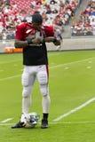 NFL Arizona Cardinals football team training camp Royalty Free Stock Image