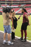 NFL Arizona Cardinals Larry Fitzgerald Royalty Free Stock Images