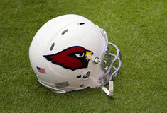 Nfl-Arizona Cardinals-Team foiotball Sturzhelm Stockbilder