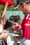 NFL Arizona Cardinals training camp fans Royalty Free Stock Photo