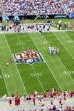 NFL - Brechen der Unordnung lizenzfreie stockbilder