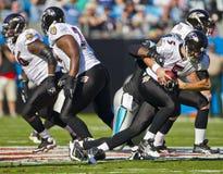 NFL: Corvos de novembro 21 Baltimore contra panteras de Carolina imagens de stock royalty free