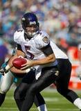 NFL: Corvos de novembro 21 Baltimore contra panteras de Carolina fotografia de stock