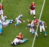 NFL - estremità di un gioco Immagini Stock Libere da Diritti