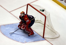 NFL Florida Panthers Goalie Stock Image
