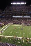 NFL Football Red Zone Huddle Stock Photo