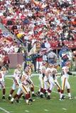 NFL Football: Redskins v. Browns royalty free stock image