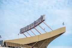 Nfl football sports stadium Stock Images