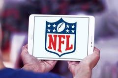 Nfl, logotipo de la Liga Nacional de Fútbol Americano foto de archivo libre de regalías