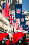 Nfl à Londres Image libre de droits
