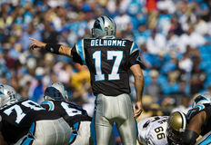 NFL New Orleans Saints Vs Carolina Panthers Stock Photo