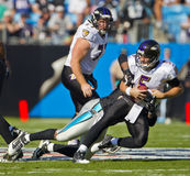 NFL:  Nov 21 Baltimore Ravens Vs Carolina Panthers Royalty Free Stock Photos