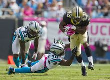 NFL:  Oct 09 Saints Vs Panthers Stock Image