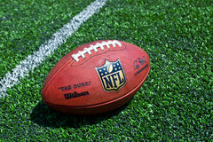 Nfl officaial ball Royalty Free Stock Photo